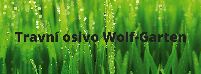 Travní osivo a travní směsi Wolf Garten